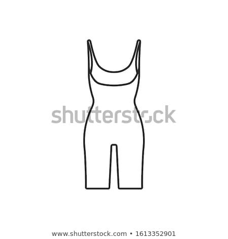 Sport Underwear Icon Vector Outline Illustration Stock photo © pikepicture
