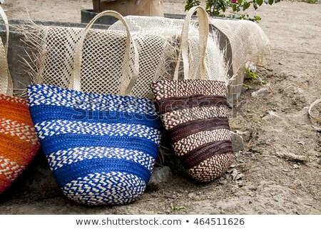Ecuadorian woven bags Stock photo © photoblueice