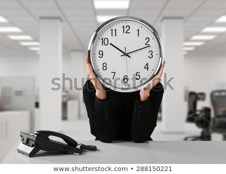 sert · saat · sözler · gözlük · bakmak · objektif - stok fotoğraf © kbuntu