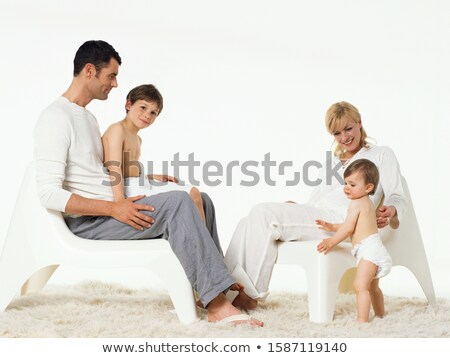 Middleaged woman with kid 4 Stock photo © Paha_L
