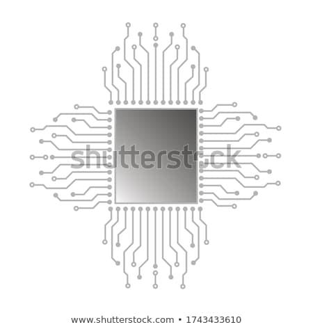 Сток-фото: Modern Computer Main Board