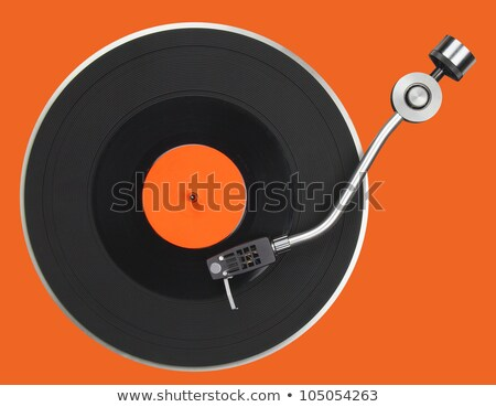 macro of record turntable cartridge stock photo © backyardproductions