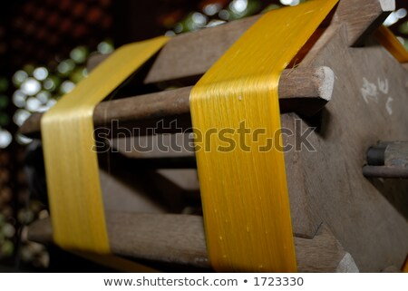 hand made silk process stock photo © stoonn