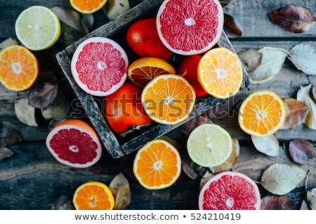 group of sweets as citrus fruits stock photo © boroda