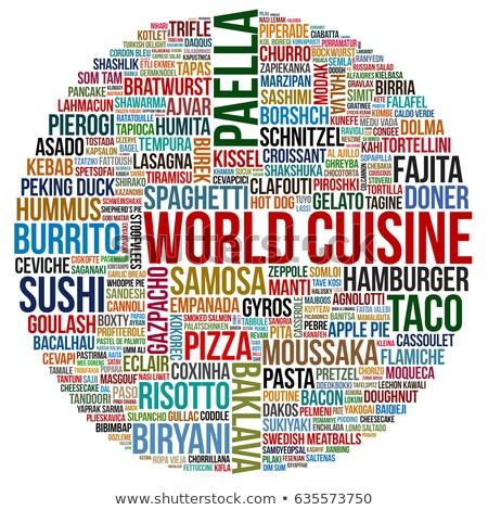 world cuisine chef stock photo © photography33