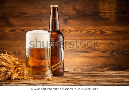 Closeup of spikes and beer Stock photo © inaquim