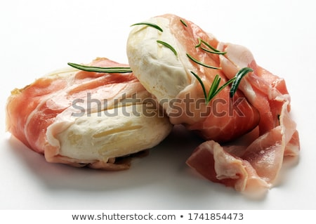 Foto stock: Goat Cheese With Bacon