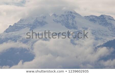 表示 山 英国の 風景 氷 ストックフォト © skylight