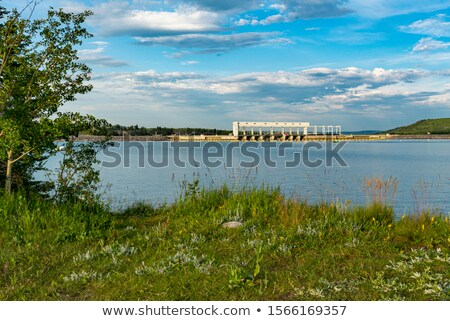 Ghost Hydroelectric Dam Stock photo © skylight