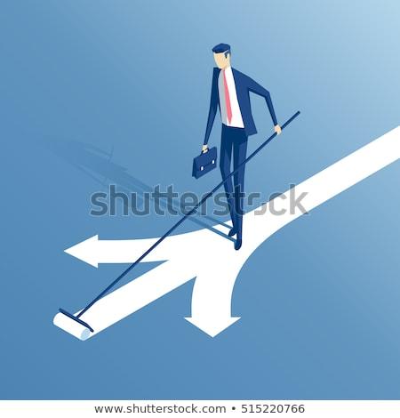 3d businessman deciding the right way stock photo © 6kor3dos