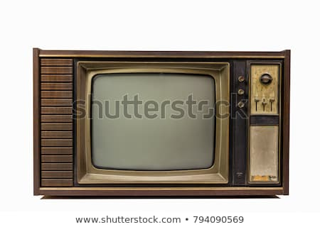 old television on white Stock photo © perysty