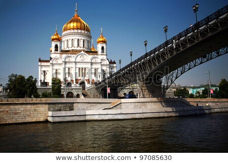 christ the savior cathedral in st petersburg stock photo © mikko