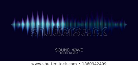 Abstract futuristic background with stereo speaker. Vector illustration. stock photo © prokhorov