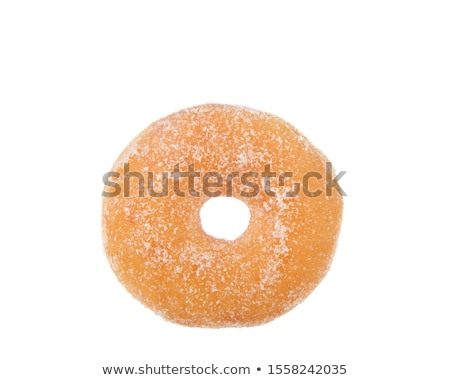 Three colorful donuts topped with sprinkles Stock photo © jarenwicklund