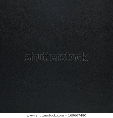 Natural Qualitative Black Leather Texture Close Up Foto stock © homydesign