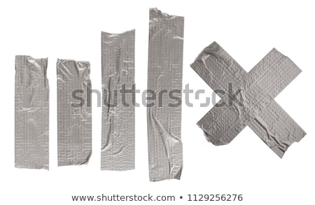 Duct Tape Isolated Elements Stock photo © Lightsource
