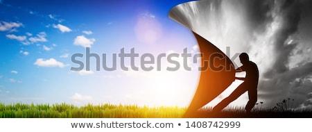 új gondolkodik üzlet siker szimbólum vezető Stock fotó © Lightsource
