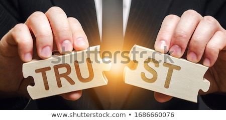 Losing Trust Stock photo © Lightsource