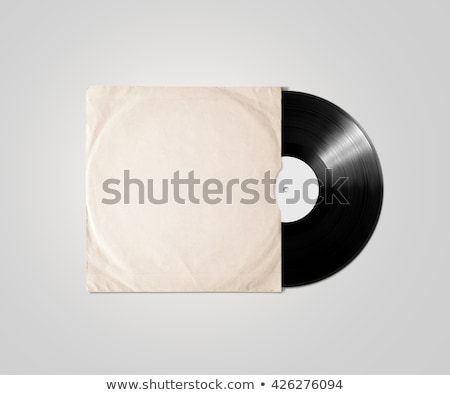 blank disc cover with clipping path stock photo © winterling