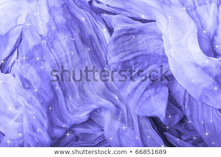 purple background fabric satin with the stars stock photo © yurkina