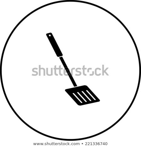 Vetor ícone utilidade cozinhar Foto stock © zzve