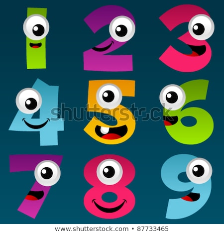 Set of 5 cartoon mouths.  Stock photo © gubh83