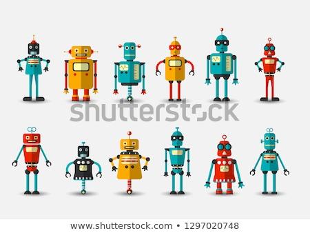 Roboter · 3d · render · Einführung · Zukunft - stock foto © creisinger
