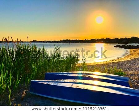 eski · renkli · plaj · su · mavi - stok fotoğraf © lianem