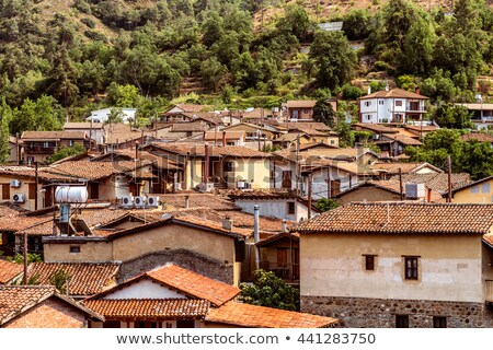 Kakopetria village, famous place in Cyprus Stock photo © Kirill_M