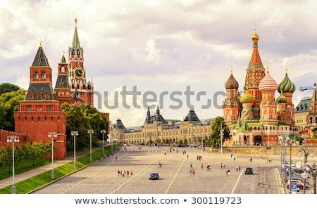 известный башни Москва Кремль стены искусства Сток-фото © Elnur