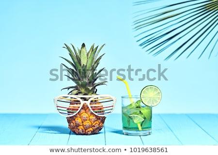 夏 気分 ベクトル 画像 座って 女性 ストックフォト © LVJONOK