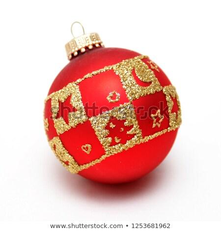 Christmas cacko skarb polu dekoracyjny czerwony Zdjęcia stock © AndreyPopov
