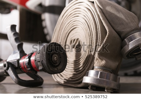 Fire hose nozzle Stock photo © smuay