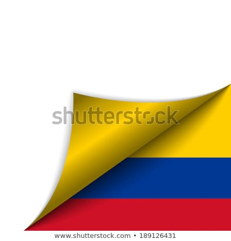 コロンビア 国 フラグ ベクトル にログイン ストックフォト © gubh83