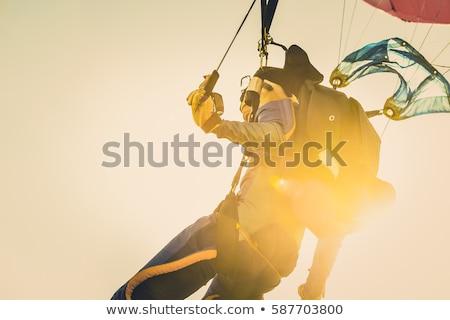 surfers parachutes Stock photo © OleksandrO