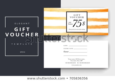 luxurious gifts with note i stock photo © natika