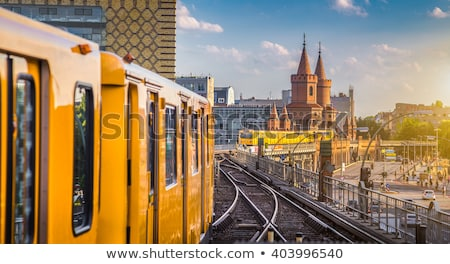 tren · estación · de · ferrocarril · adelaide · aire · libre · Australia - foto stock © hochwander