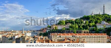 Dama basílica vista catedral Lyon Foto stock © vwalakte