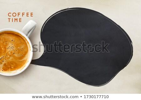 кофейный · боб · расплывчатый · кофе · кафе · семян · утра - Сток-фото © dezign56