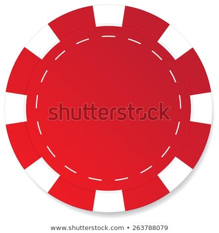 赤 孤立した 白 勝者 チップ ストックフォト © Studio_3321