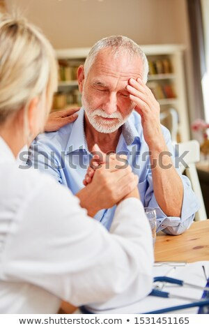 Alzheimer Patient Stock photo © Lightsource