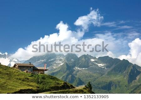 осень декораций Альпы Австрия путешествия гор Сток-фото © CaptureLight