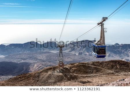niebo · górskich · lata · podróży · wyspa - zdjęcia stock © tracer