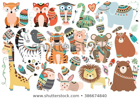 Tribal Animals Stock photo © cteconsulting