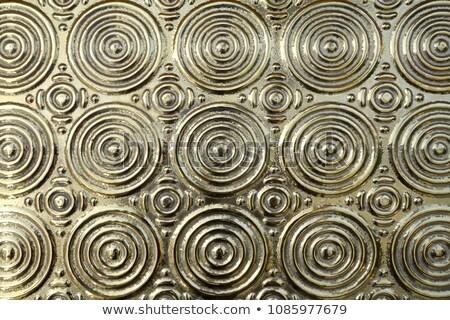 Stock photo: emboss metal pattern