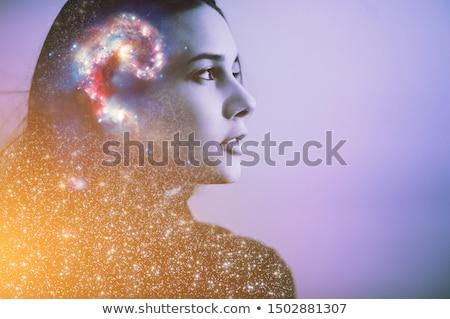 krachtig · verstand · elektrische · staking · vorm - stockfoto © lightsource