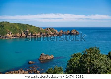 Stock fotó: Tengerparti · jelenet · csatorna · szigetek · természet · tenger