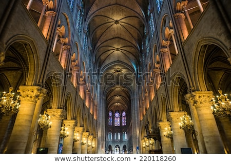 Bina · Paris · katedral · geleneksel · paris - stok fotoğraf © joyr