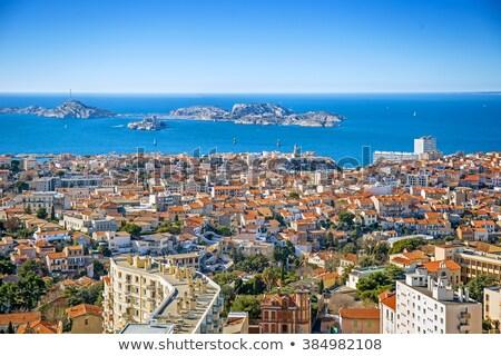 aerial of Marseille  Stock photo © meinzahn