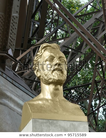 Gustave Eiffel bust by Antoine Bourdelle (1861-1929) Stock photo © smartin69